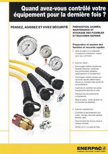 flexibles et raccords ENERPAC