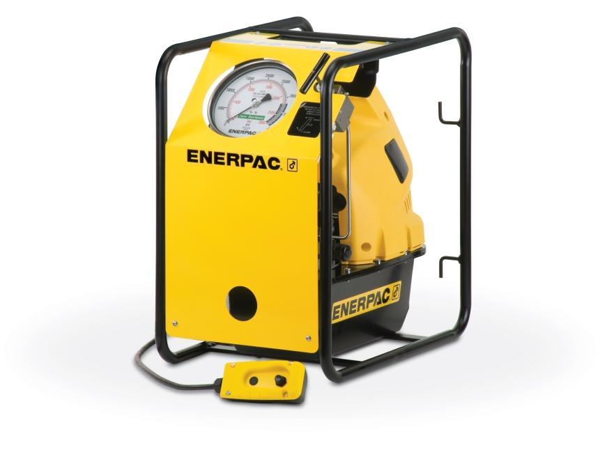 Pompes electrique pour tendeurs hydrauliques enerpac
