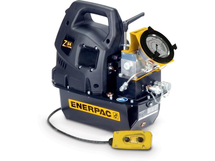 Pompes pour cles hydrauliques enerpac