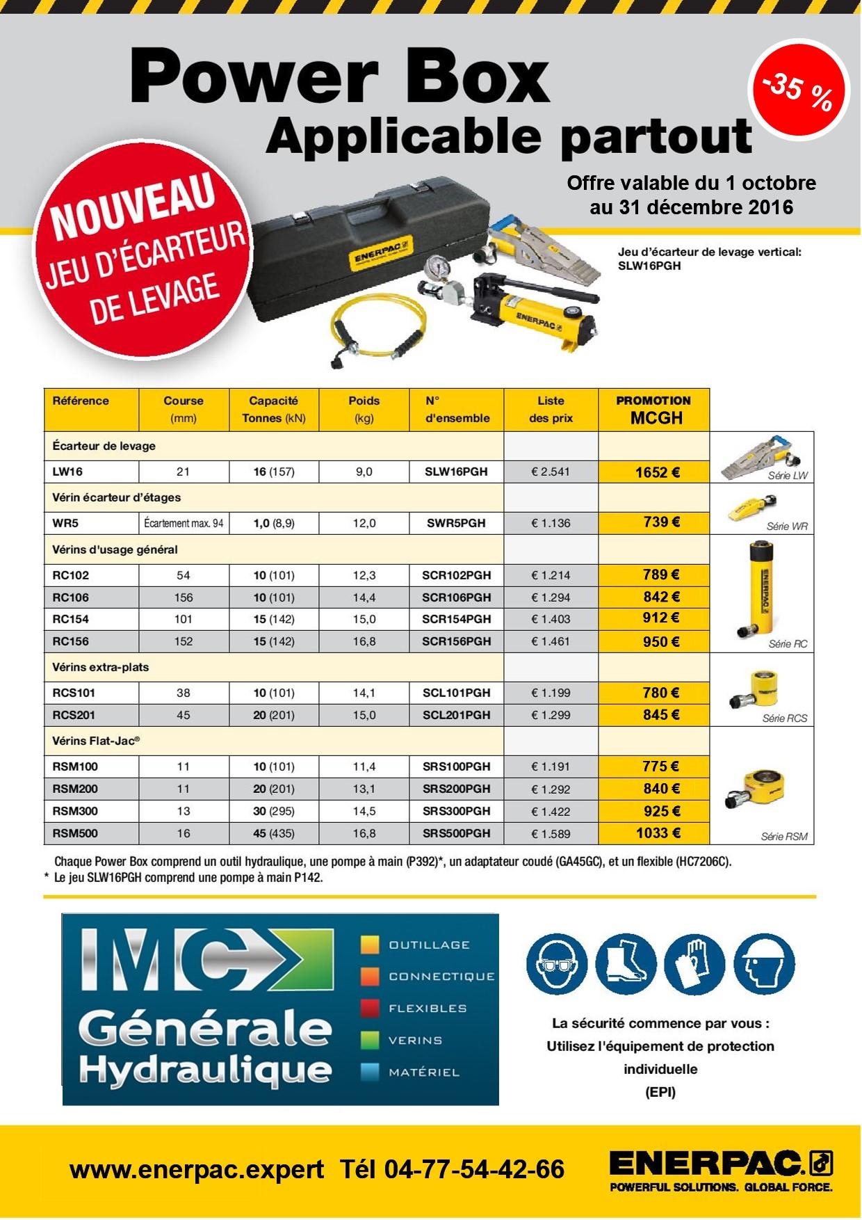 Powerbox set lw16 flyer fr page 002 promo enerpac decembre 2016
