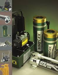 Symplex hydraulique